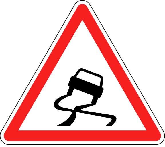 Plus une voiture est légère, plus elle risque l'aquaplaning. © Roulex_45, Wikipedia, CC by-SA 3.0