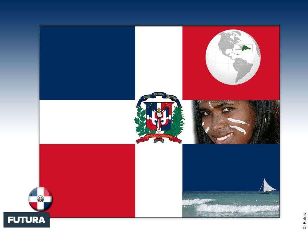 Drapeau : République dominicaine