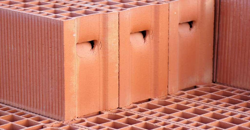 Brique monomur. © DR