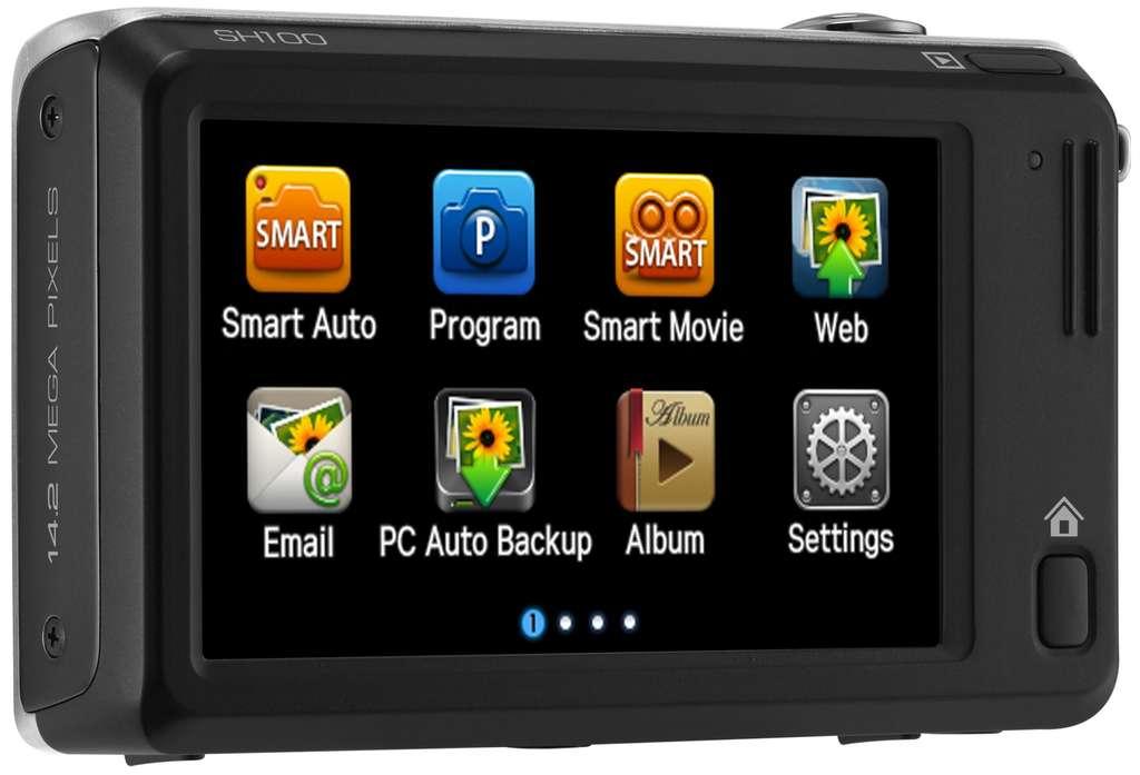 Des fonctions Web qui font davantage penser à un téléphone qu'à un appareil photo. © Samsung