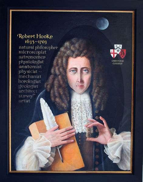Robert Hooke. © DR