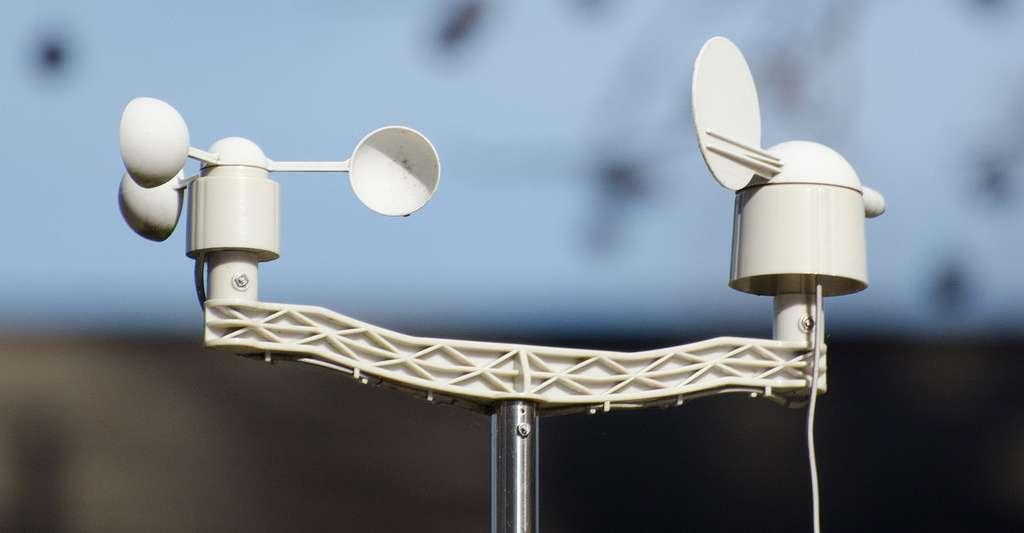 L'anémomètre sert à mesurer la vitesse du vent. © Laura Nawrocik, CC by-nc 2.0