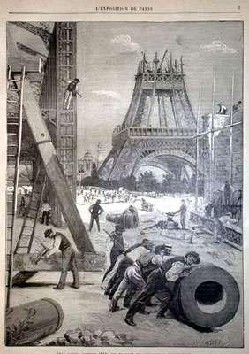 Vue de la Tour Eiffel octobre 1888