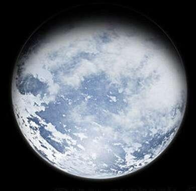 Une planète-océan (vue d'artiste). L'eau liquide est probablement très courante dans la galaxie. La vie, elle, pourrait être nettement plus rare. © DR