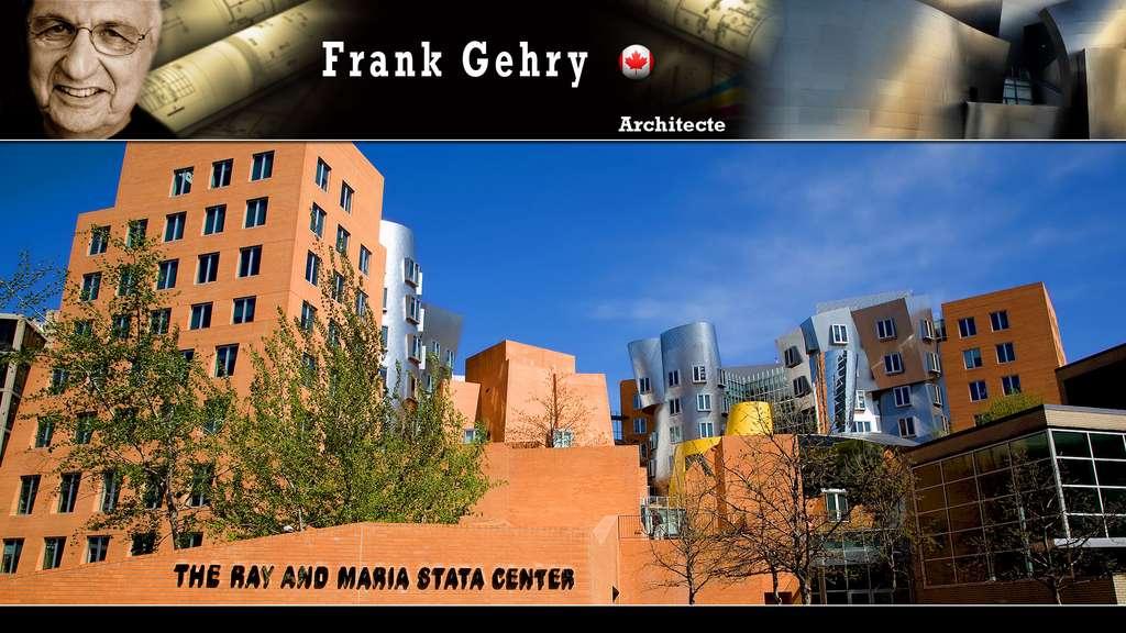 Le Stata Center du MIT au Massachusetts, par Frank Gehry