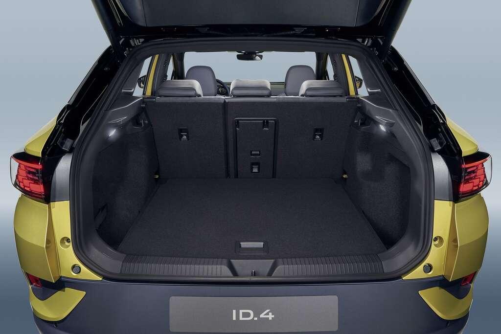 Le volume de coffre est de 543 litres. © Volkswagen