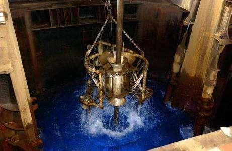 Un forage long de cinq mois pour percer les mystères de la croûte océanique (Crédits : IODP/TAMU)