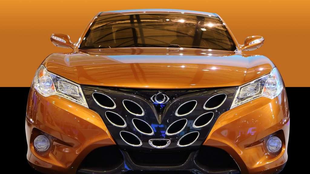 Le concept-car Gleagle GS, de Geely
