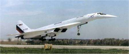 Tupolev TU-144. © Creative Commons