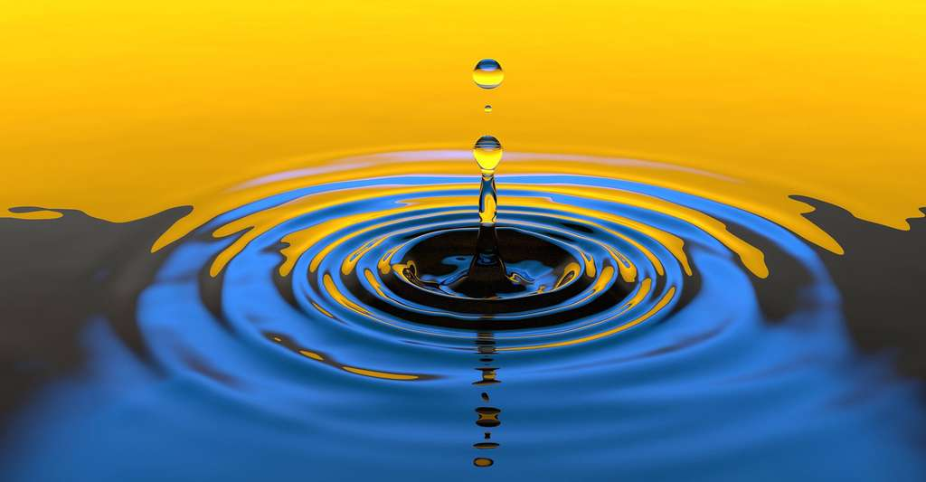 Les caractéristiques des molécules d'eau ne sont pas communes à tous les liquides. © Gimono, Pixabay, DP