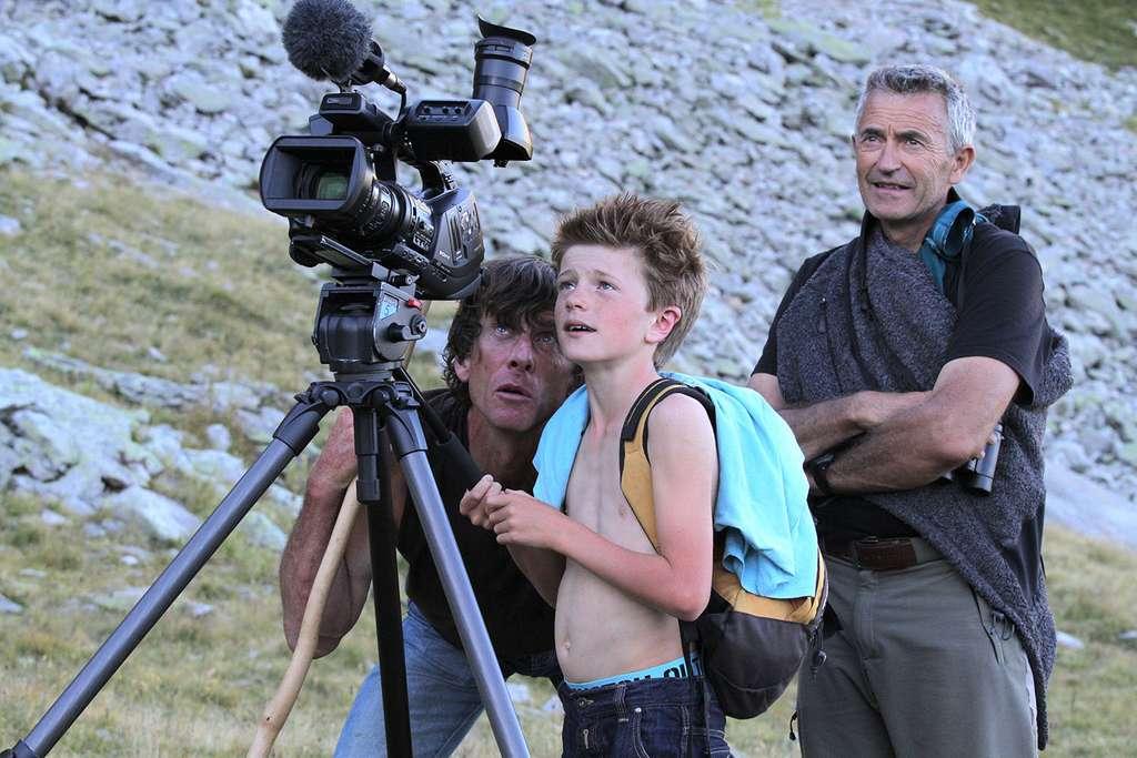 Lors d'un tournage, Alexandre, fils de berger. © Erik Lapied, tous droits réservés