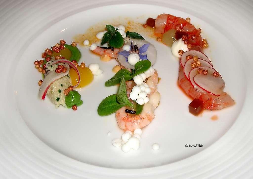 Consistances et goûts de la cuisine note à note