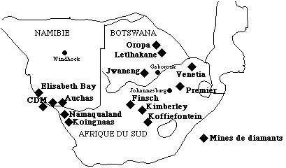 Mines De Beers en Afrique du Sud. © De Beers