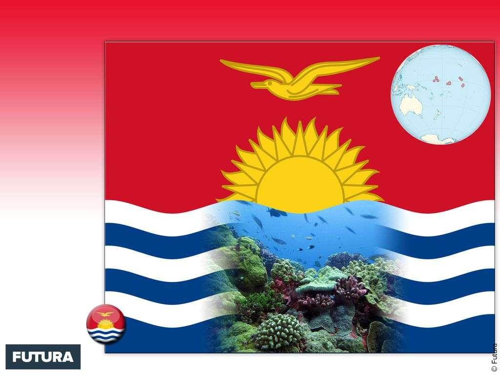Drapeau : Kiribati