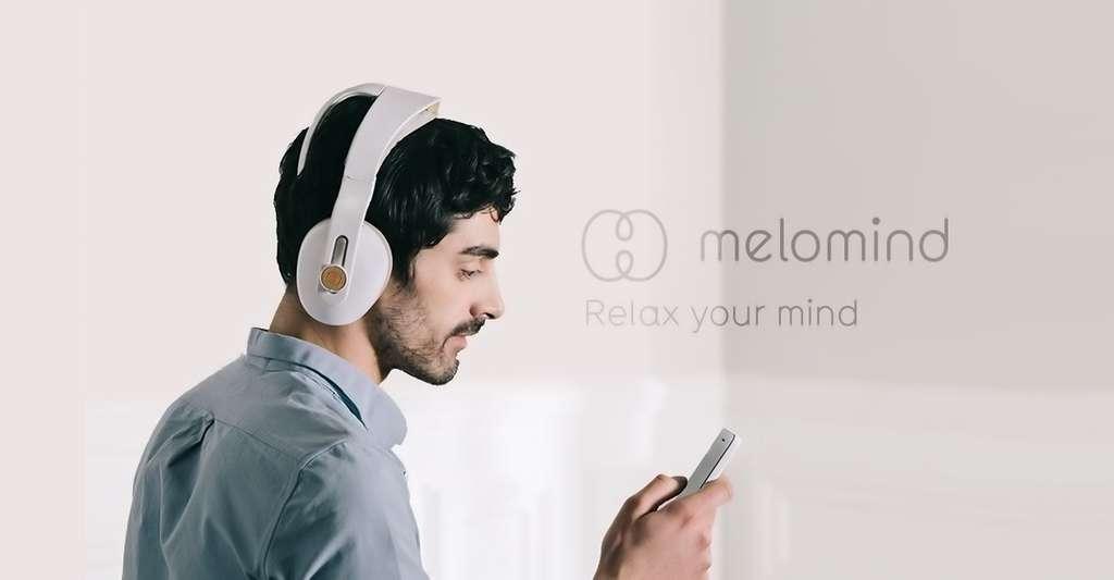 Le casque Melomind diffuse de la musique, mais d'une manière subtile. © MyBrain Technologies (tous droits réservés)