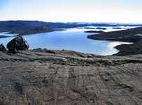 La région d'Isua au Groenland (Crédit : Scripps Institution of Oceanography).