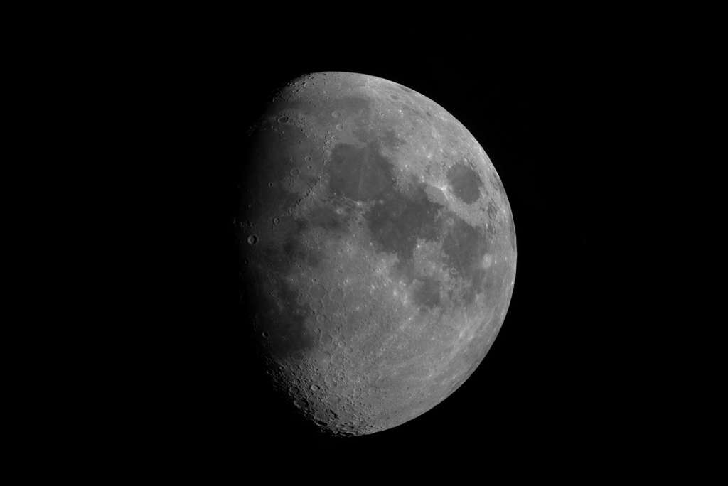 Lune gibbeuse. © Bastien Foucher - Tous droits réservés
