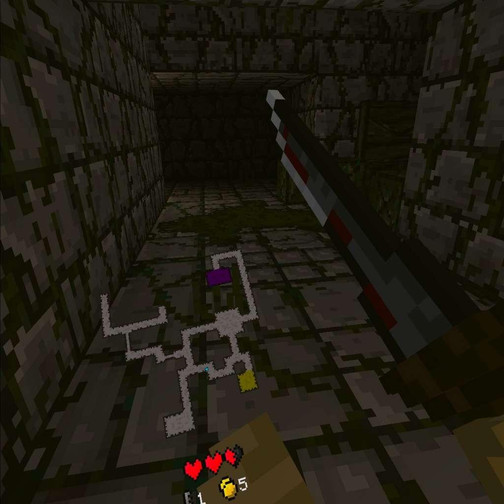 Ancient Dungeon, un jeu gratuit en bêta uniquement disponible sur SideQuest. © Futura