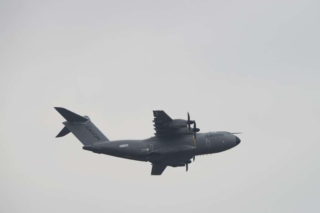 L'A400M, un avion militaire étonnamment silencieux