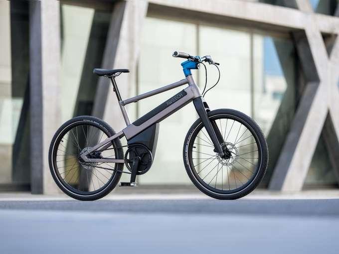 L'iWeech est doté d'un cadre en aluminium et d'une transmission par courroie. © iWeech