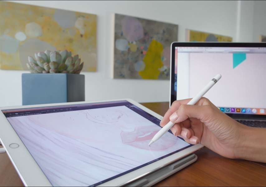 Duet Display permet de transformer un iPad en deuxième écran pour votre Mac. © Duet Inc.