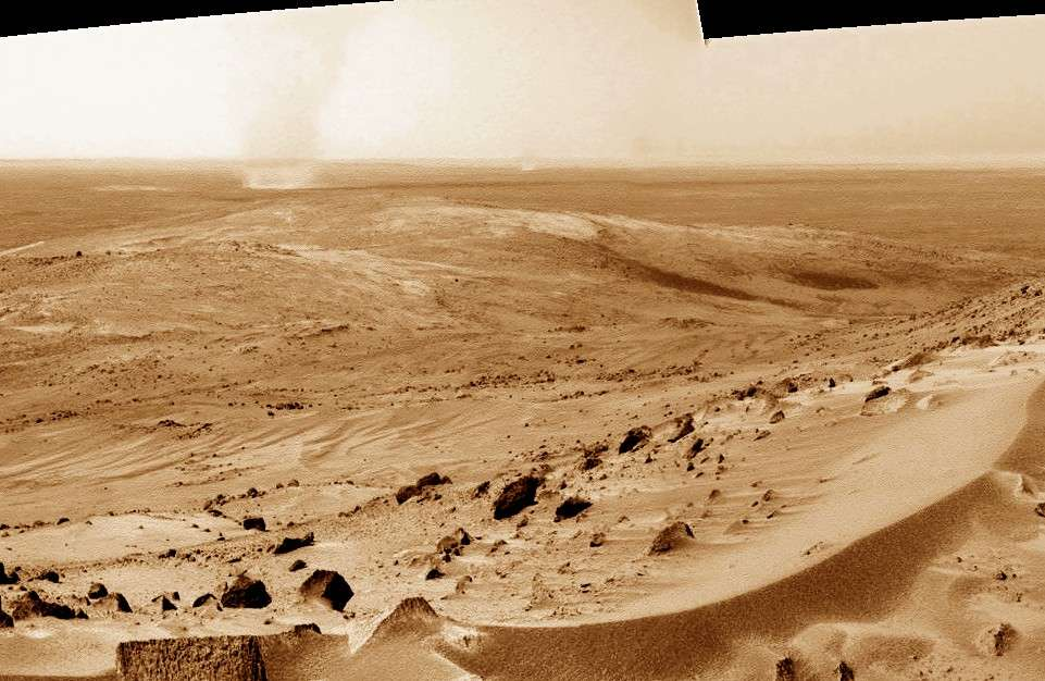Dust devil sur Mars