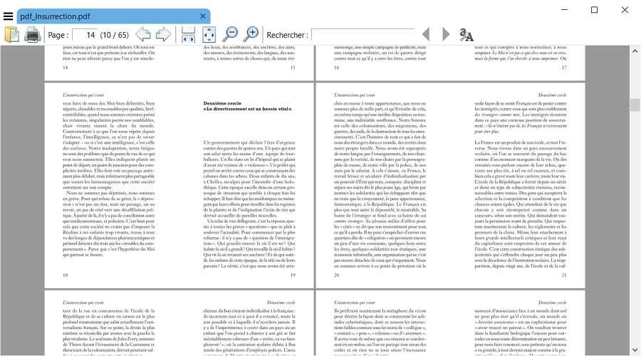 Sumatra PDF, la solution la plus légère pour consulter des PDF et des livres numériques. © Krzysztof Kowalczyk