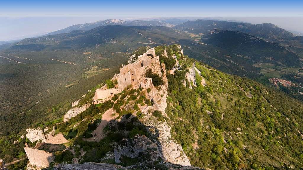 Le château de Peyrepertuse, la « Carcassonne céleste »