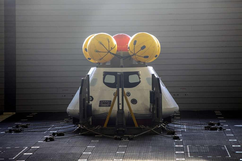 La version d'essai du module habité de la capsule Orion. © Nasa