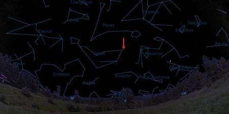 Cliquer pour agrandir. La localisation de 61 Virginis sur la voûte céleste. Crédit : Steve Vogt, UCSC