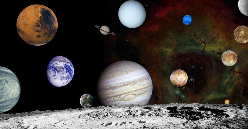 Planètes du système solaire. © Nasa, domaine public