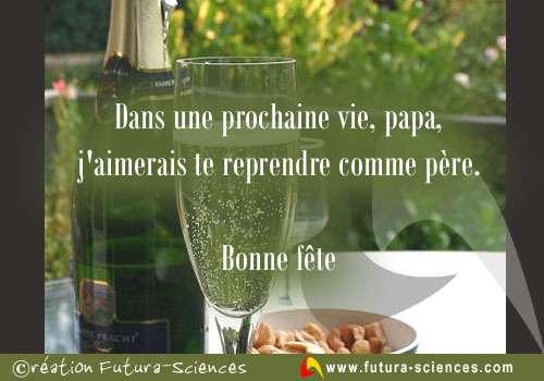 Champagne, Papa !