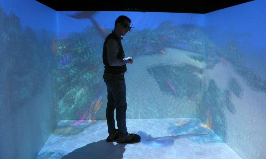 Un Cave pour s'immerger dans le virtuel
