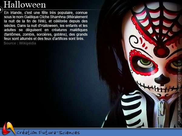 Créature d'Halloween