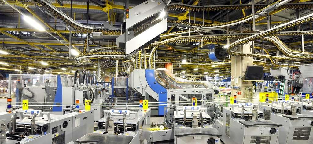 L'imprimerie du XXIe siècle est bien loin de celle de son inventeur, Gutenberg. © industrieblick.jpg, Fotolia
