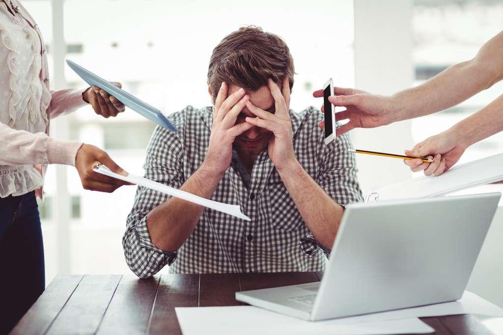 Gérer son stress au travail. © WavebreakmediaMicro, Adobe Stock