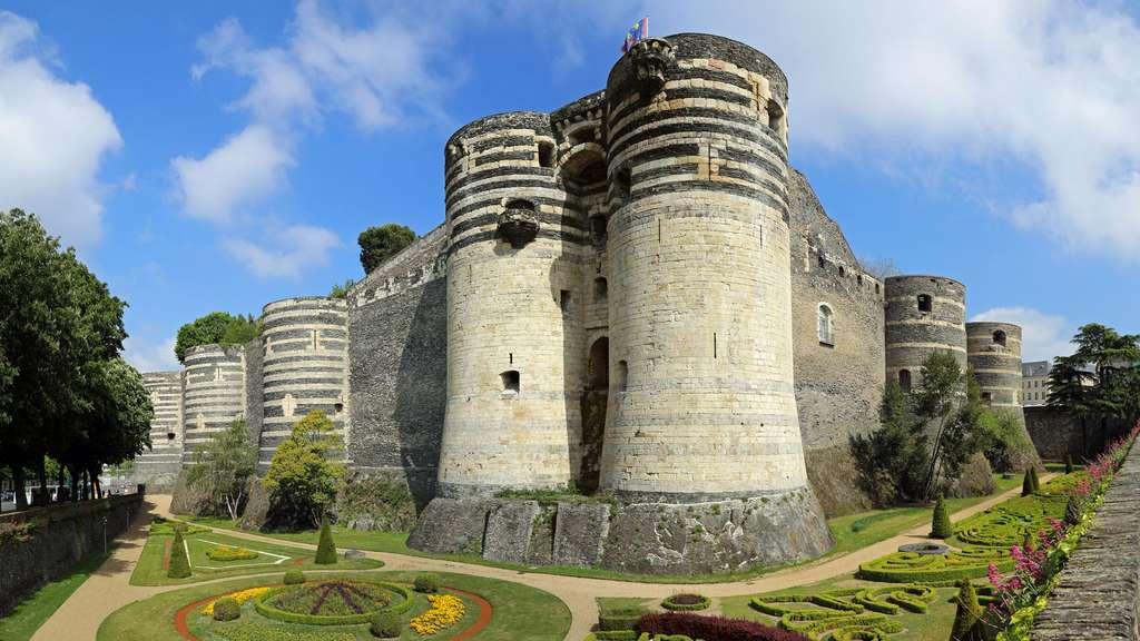 Le château d'Angers, la forteresse imprenable