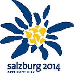 L'edelweiss était l'emblème de la candidature de Salzbourg aux Jeux olympiques d'hiver 2014. © DR