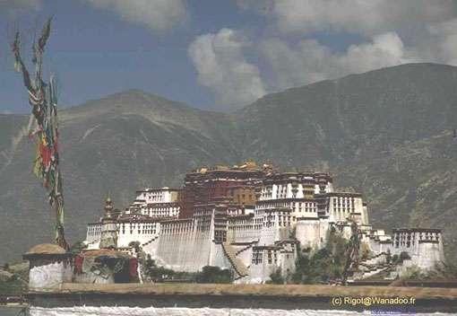 Le Potala à Lhassa. © Rigot