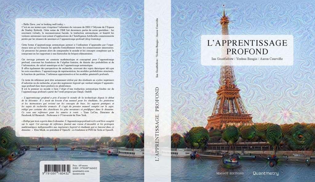 La traduction française de Deep Learning, « L'apprentissage profond », sera disponible dans les librairies à partir du 18 octobre. © Massot Editions, Quantmetry