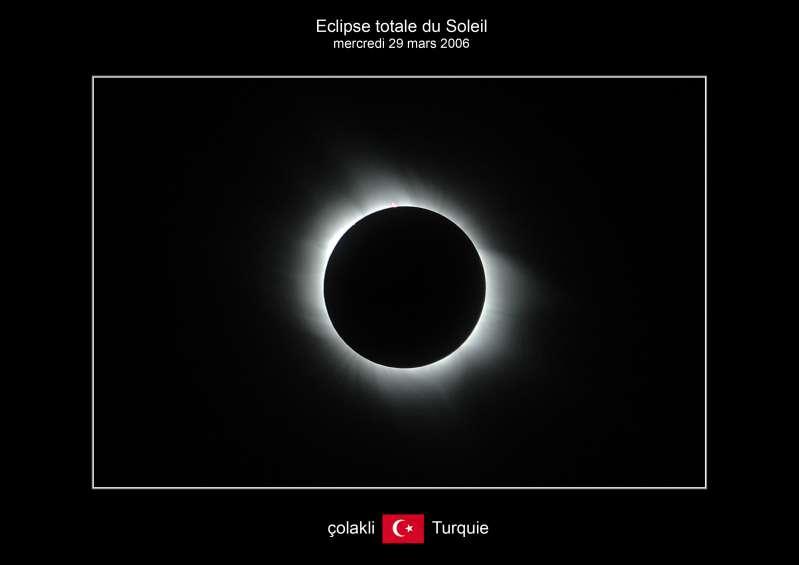L'éclipse depuis la Turquie
