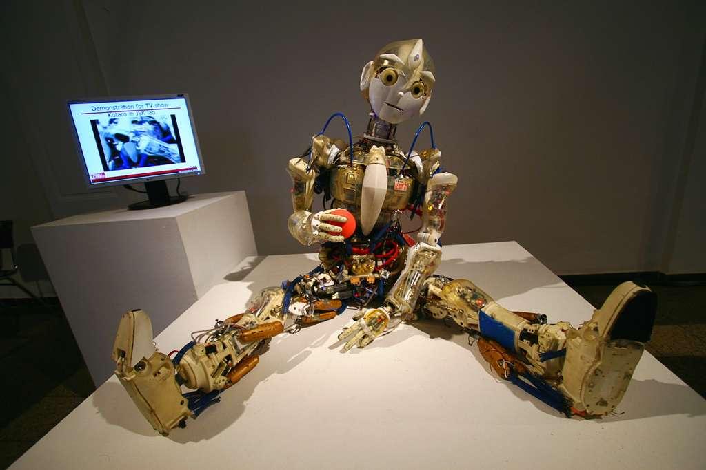 À l'avenir, on aura de quoi se perdre entre les robots humanoïdes et les hommes robotisés. Y a-t-il des limites à ne pas franchir avec l'intelligence artificielle ? Et avec l'intelligence humaine ? © Gregoryperez, Flickr, cc by nc sa 2.0