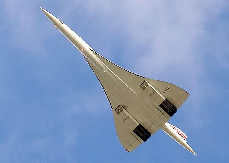 Le Concorde, l'avion le plus beau, le plus rapide, jamais égalé. Mais il consommait trop et ne correspondait pas au marché du transport aérien de masse. Ce n'est pas l'avion du futur. © Domaine public