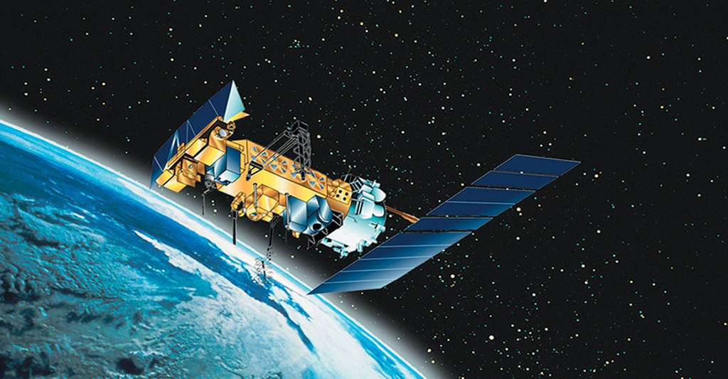 Satellite de surveillance. © © NOAA