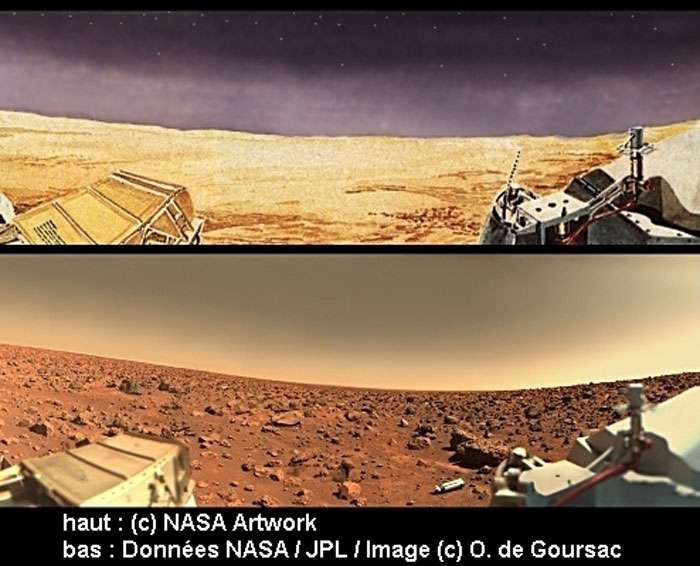 Mars telle qu'on l'imaginait