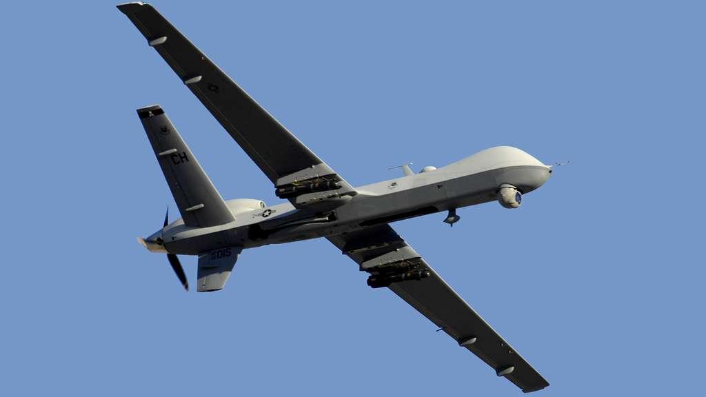 Le MQ-9 Reaper en vol, un drone aux multiples fonctions