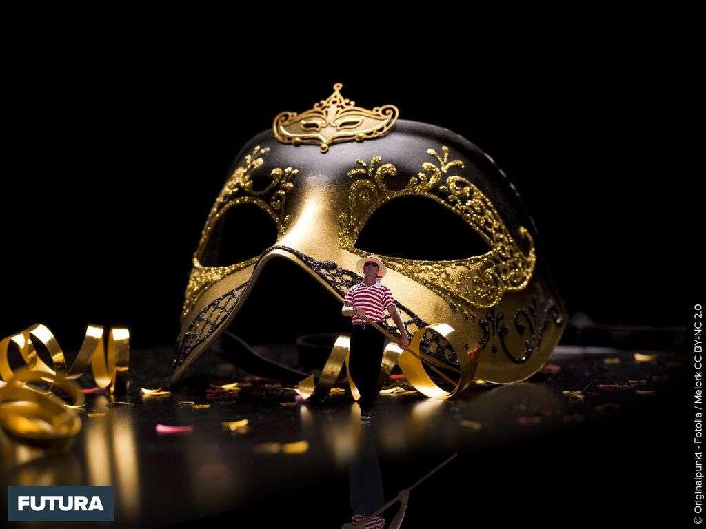 Carnaval de Venise Masque Noir