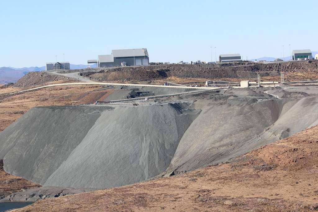 La mine de Letšeng au Lesotho. © Arthur Chapman, Flickr