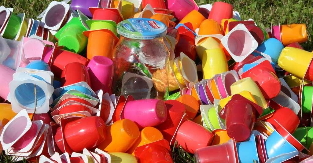 Recyclage du plastic. © EKM-Mittelsachsen, CCO