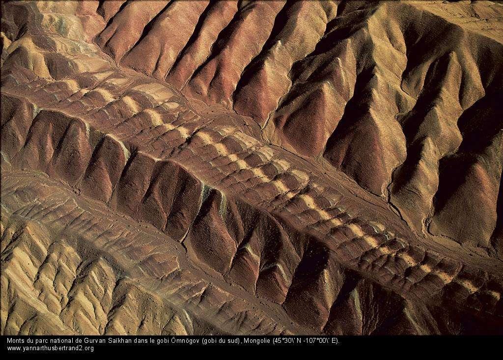 Mongolie Monts du parc national de Gurvan Saïkhan